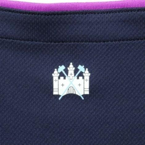 Комплект детской третьей формы Вест Хэм 2019-2020 футболка герб города