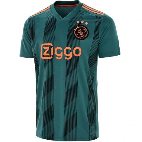 Детская гостевая футбольная форма Промес 2019-2020 номер 11 футболка спереди