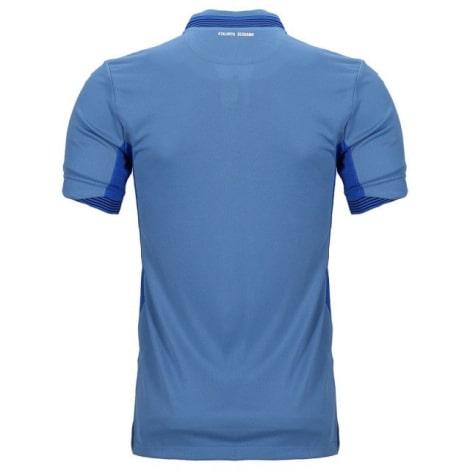 Третья футболка Барселоны 2019-2020 Фрэнки Де Йонг спонсор