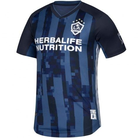 Комплект взрослой гостевой формы ЛА Гэлакси 2019-2020 футболка