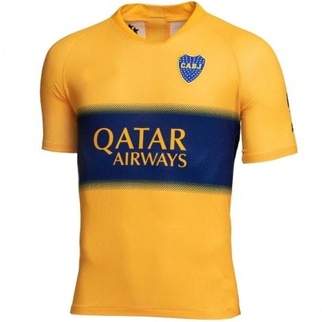 Гостевая игровая футболка Бока Хуниорс 2019-2020