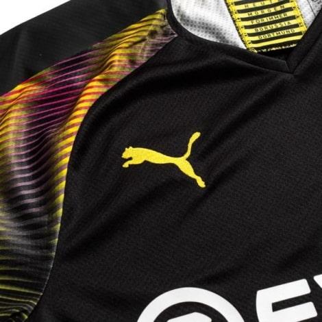 Вратарская гостевая футболка Боруссии Дортмунд 2019-2020 бренд