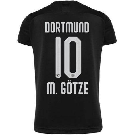 Гостевая футболка Боруссии Дортмунд 2019-2020 Марио Гетце