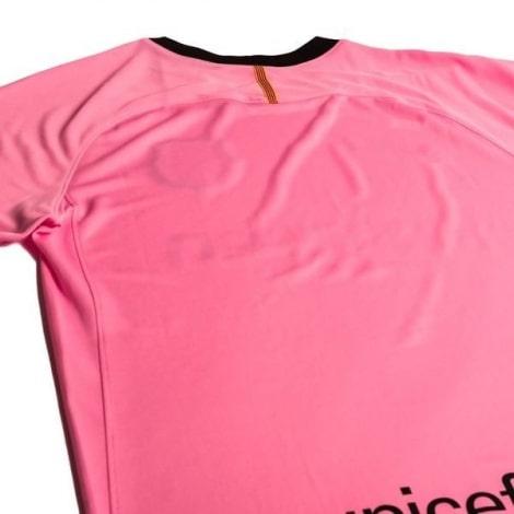 Комплект взрослой третьей формы Барселоны 2020-2021 футболка сзади