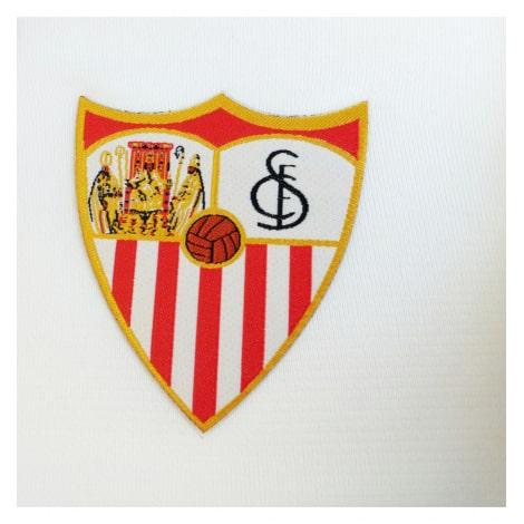 Комплект детской домашней формы Севильи 2019-2020 футболка герб клуба