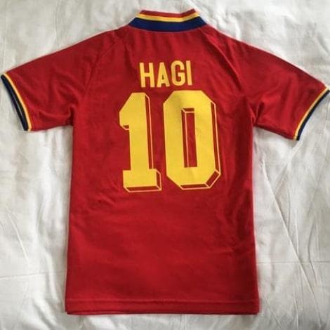 Гостевая футболка сборной Румынии образца 1994