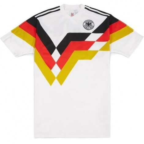 Домашняя футболка сборной Германии Ретро 1988-1991