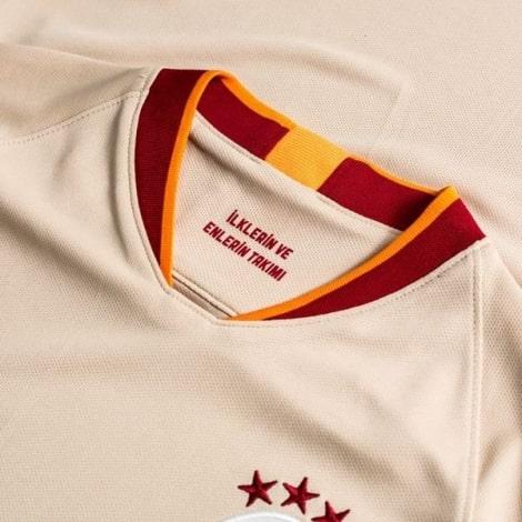 Гостевая игровая футболка Галатасарай 2019-2020 воротник