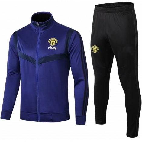 Взрослый черно-синий костюм Ман Юнайтед 2019-2020