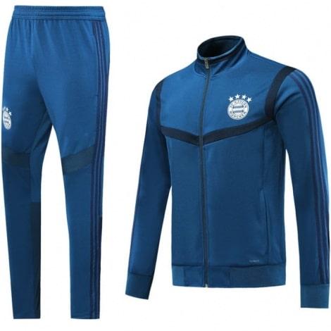Взрослый синий костюм Баварии 2019-2020