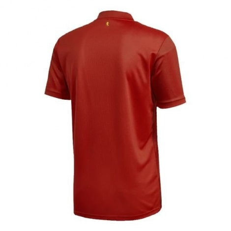 Домашняя игровая футболка сборной Испании на ЕВРО 2020 сзади