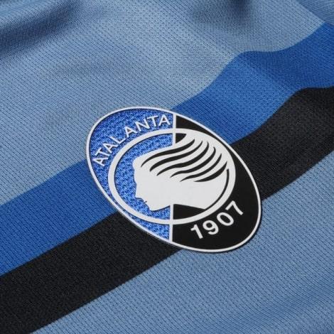 Комплект взрослой третьей формы Аталанта 2020-2021 футболкагерб клуба