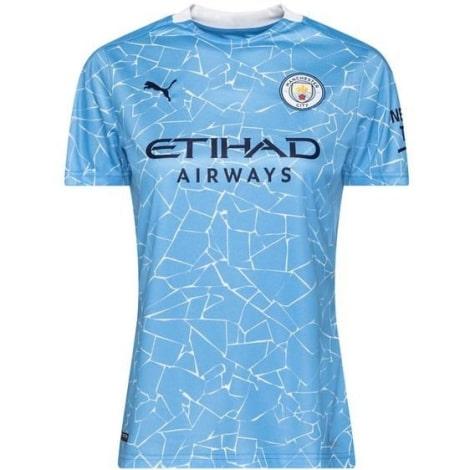 Женская домашняя футболка Манчестер Сити 2020-2021