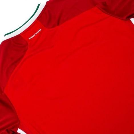 Домашняя футболка сборной Венгрии на Чемпионат Европы 2020 сзади