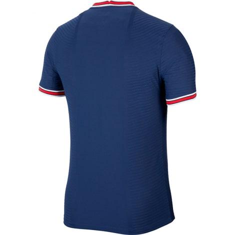 Домашняя игровая футболка сборной Испании на ЕВРО 2020 воротник