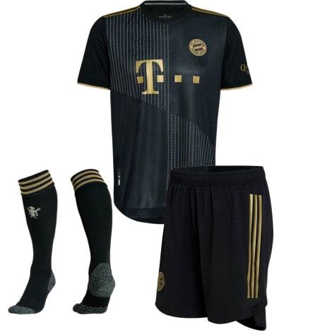 Комплект взрослой гостевой формы Баварии 2021-2022 футболка шорты и гетры