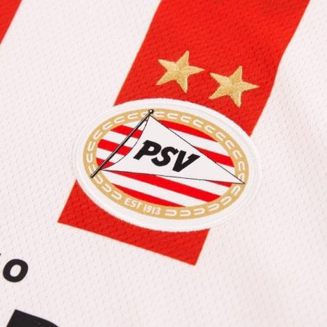 Домашняя игровая футболка ПСВ 2020-2021 герб клуба