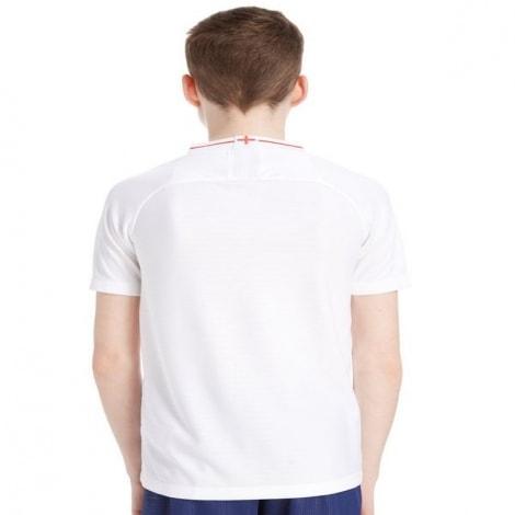 Детская домашняя футболка Англии на ЧМ 2018 сзади