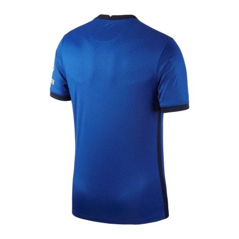 Комплект взрослой домашней формы Челси 2020-2021 футболка сзади