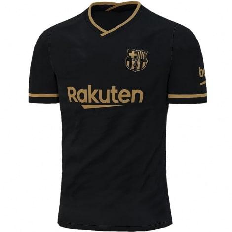 Гостевая игровая футболка Барселоны 2020-2021