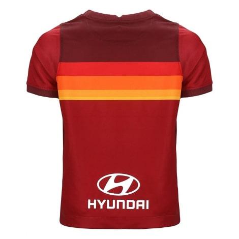 Комплект детской домашней формы Ромы 2020-2021 футболка сзади