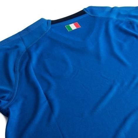 Домашняя футболка сборной Италии 2018-2019 сзади
