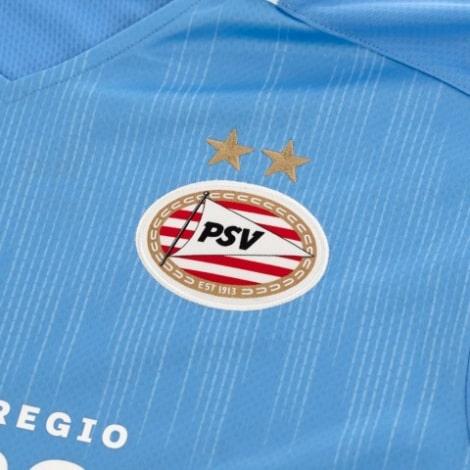 Комплект детской гостевой формы ПСВ 2020-2021 футболка герб клуба