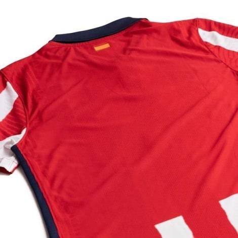 Домашняя аутентичная футболка Атлетико Мадрид 2020-2021 сзади