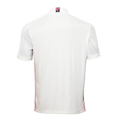 Домашняя игровая футболка Реал Мадрид 2020-2021 сзади