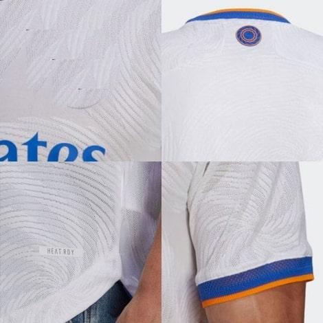 Детский комплект домашней формы Реал Мадрид 2021-2022 футболка логотипы Серхио Рамос