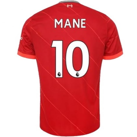 Домашняя футболка Ливерпуля 2021-2022 Садио Мане