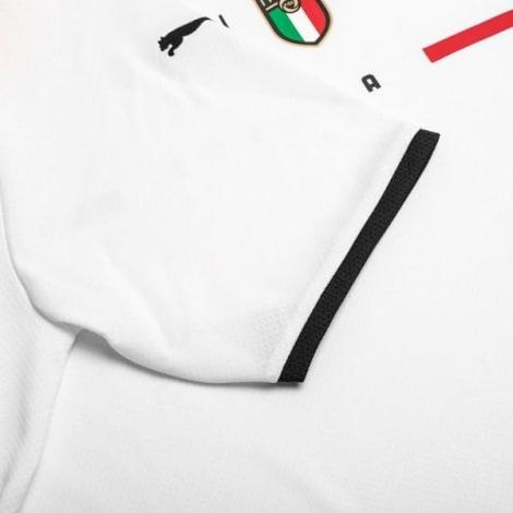 Детская Четвертая футболка сборной Италии Иммобиле Флоренци на Чемпионат Европы 2020 рукав