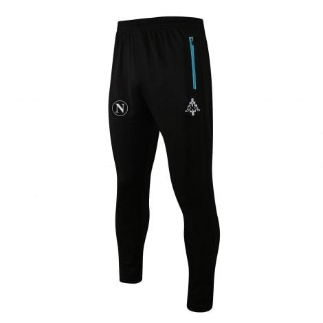 Черно-голубой спортинвый костюм Наполи 2021-2022 штаны
