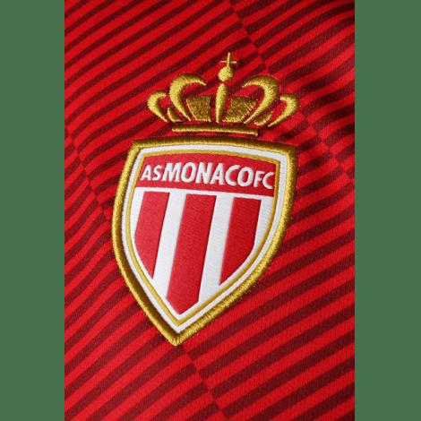 Домашняя игровая футболка Монако 2018-2019 герб клуба