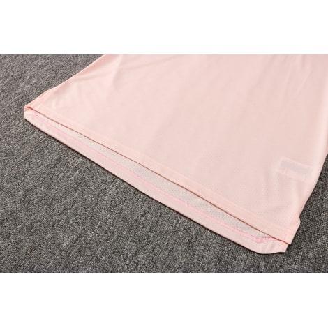 Сине-розовая тренировочная форма Ювентуса 2021-2022 ткань