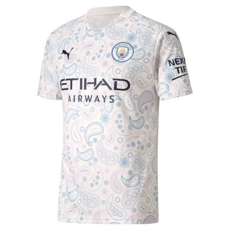 Детская третья форма Манчестер Сити 2020-2021 футболка