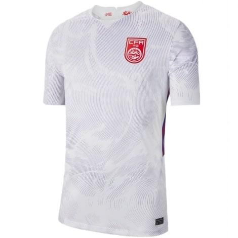 Гостевая футболка сборной Китая 2021-2022