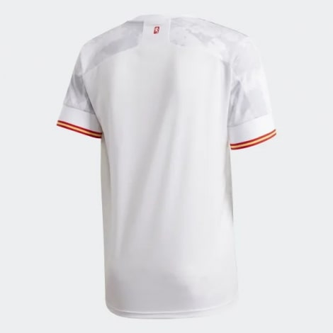 Вратарская домашняя футболка Манчестер Юнайтед 2018-2019 воротник вблизи