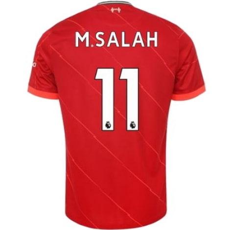 Домашняя футболка Ливерпуля 2021-2022 Мохаммед Салах