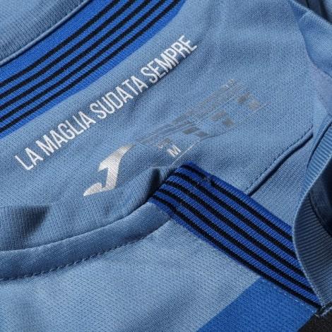 Комплект взрослой третьей формы Аталанта 2020-2021 футболка воротник