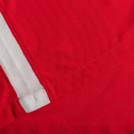 Домашняя аутентичная футболка Ливерпуля 2020-2021 ткань
