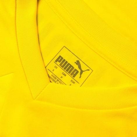 Домашняя игровая футболка Боруссии Дортмунд 2018-2019 воротник