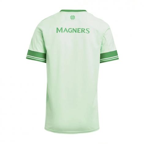 Комплект детской гостевой формы Селтик 2020-2021 футболка сзади