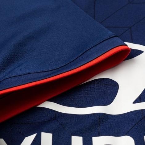 Гостевая игровая футболка Лион 2018-2019 рукав