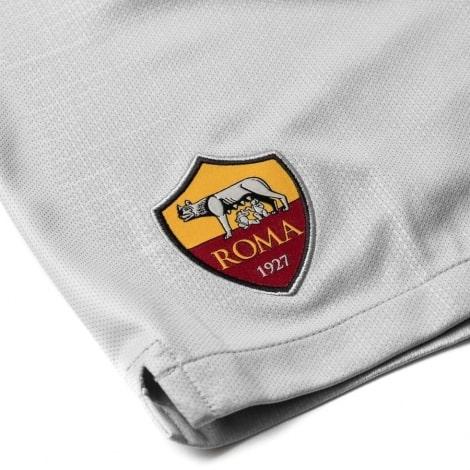 Шорты взрослой гостевой формы Рома 2018-2019 герб клуба