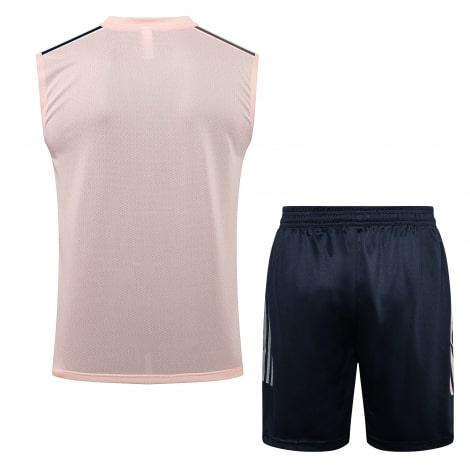 Сине-розовая тренировочная форма Ювентуса 2021-2022 сзади
