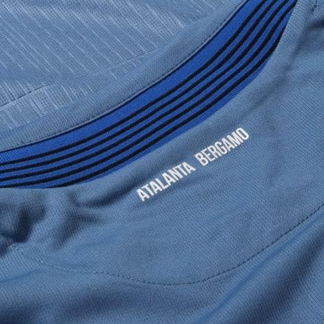 Комплект взрослой третьей формы Аталанта 2020-2021 футболка воротник сзади