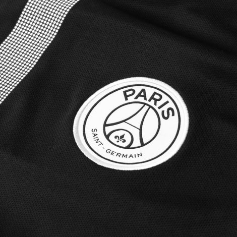 Футболка взрослой домашней формы ПСЖ 2018-2019 JORDAN герб клуба