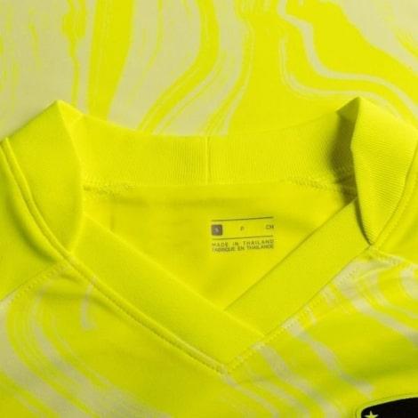 Взрослый желто-синий тренировочный костюм Челси 2018-2019 бренд