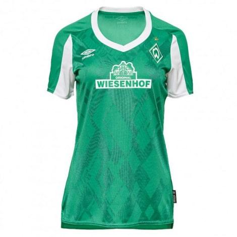 Женская домашняя футболка Вердер Бремен 2020-2021